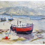Red Boat: Print, Framed, £50