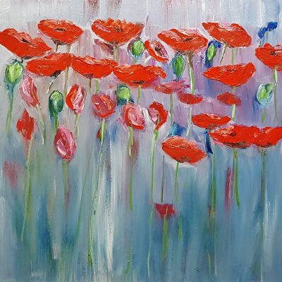 Poppies-in-Oil-on-canvas-£150-1