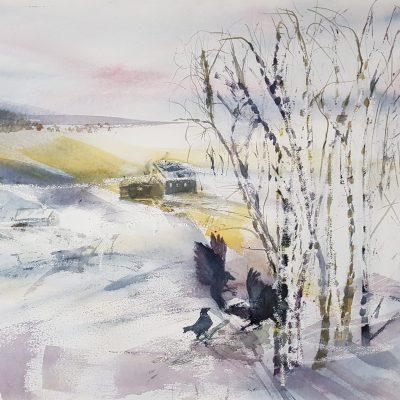 Vinter Watercolour on Paper Framed £100